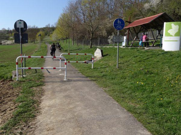 Rastplatz in der Nähe von Helmsdorf