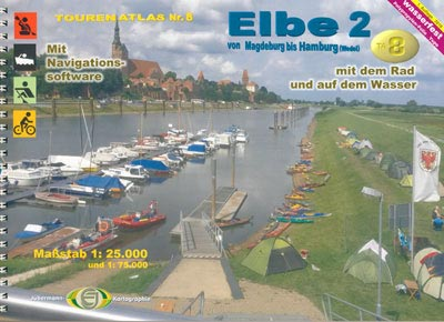 Tourenatlas TA8 Elbe 2
